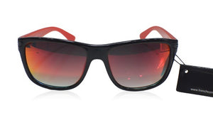 French Connection FC-7204-C1 wafarer gloss red and black Sunglasses