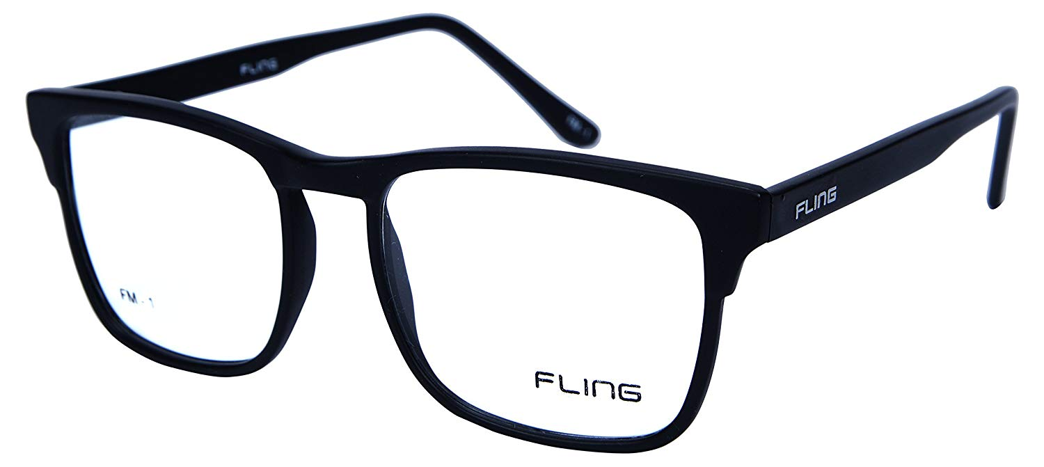 Fling Rimmed Square Eyeglasses - (2030_FM1|52 mm