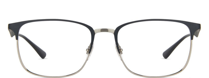 Ray-Ban RX6421 Medium (Size-54) Gunmetal Grey 3004 Unisex Eyeglasses