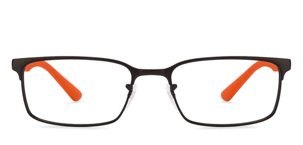 08a31b08fd Ray-Ban Rx6325 Medium (Size-53) Black Orange 2841 Unisex Eyeglasses Ray-Ban  Rx6325 Medium (Size-53) Black Orange 2841 Unisex Eyeglasses