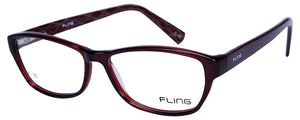 Fling Rimmed Oval Women's Eyeglasses- (108_F10|51 mm)