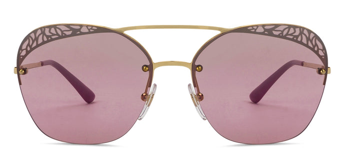 Vogue VO4104S Large (Size-57) Golden Purple Gradient 280/7A Women Sunglasses