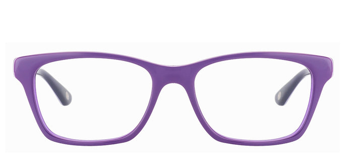 Vogue VO2714 Medium (Size-52) Purple Navy Blue Women Eyeglasses