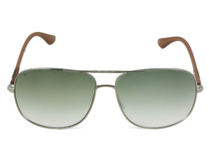 FCUK FC-7316-C2 Aviator Silver Green Sunglasses