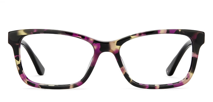 Tommy Hilfiger TH1009 Medium (Size-53) Brown Purple Totoise Black C2 Women Eyeglasses