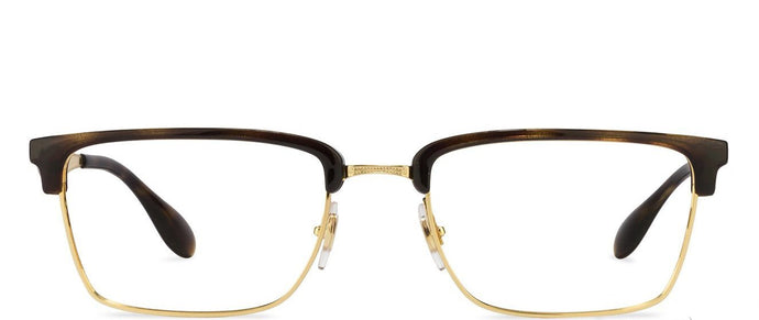 Ray-Ban Rx6397 Medium (Size-52) Tortoise Golden 02933 Unisex Eyeglasses