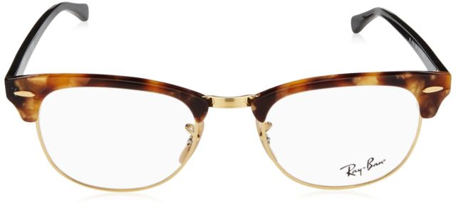 Ray-Ban Rx5154 Small (Size-51) Tortoise brown 5494 Eyeglasses