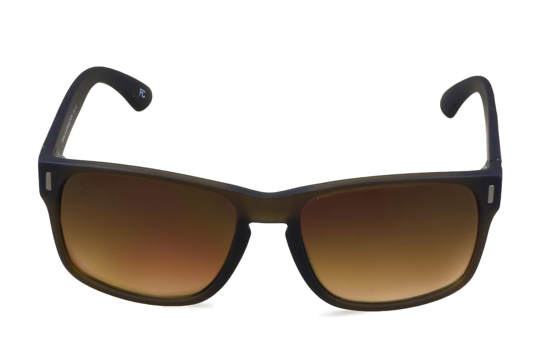 French Connection FC-7326-C2 rectangle matte black Sunglasses