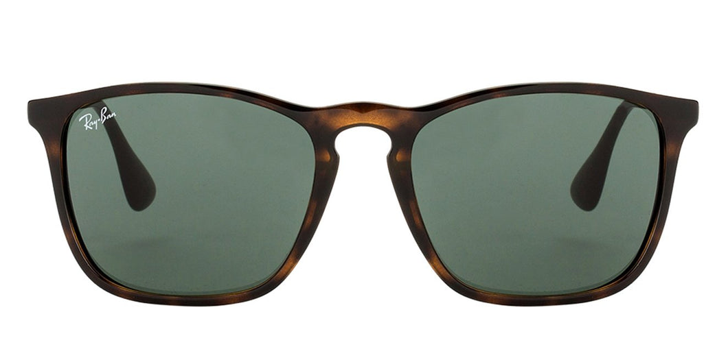 Ray-Ban RB4187 Medium (Size-54) Tortoise Green Unisex Sunglasses