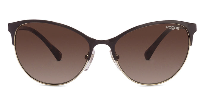 Vogue Vogue VO4058 Large (Size-56) Brown Golden Tortoise Brown Gradient 997/13 Women Sunglasses