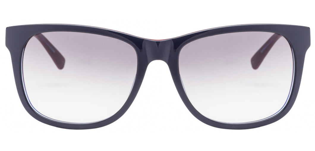 Tommy Hilfiger TH7959 Medium (Size-58) Blue Red Grey Gradient Unisex Sunglasses