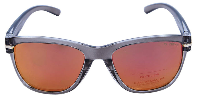 Fling Polarized Wayfarer Unisex Sunglasses - (S007_F4|53 mm|Multi-Coloured Lens)