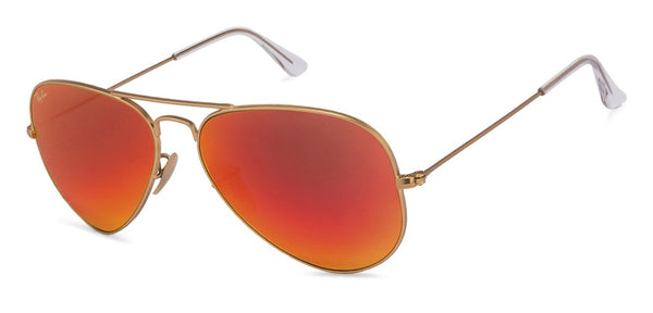af591247e40 Ray-Ban RB3025 Large (Size-58) Golden Red Orange Mirror 112 69 Unisex  Sunglasses Ray-Ban RB3025 Large (Size-58) Golden Red Orange Mirror 112 69  Unisex ...