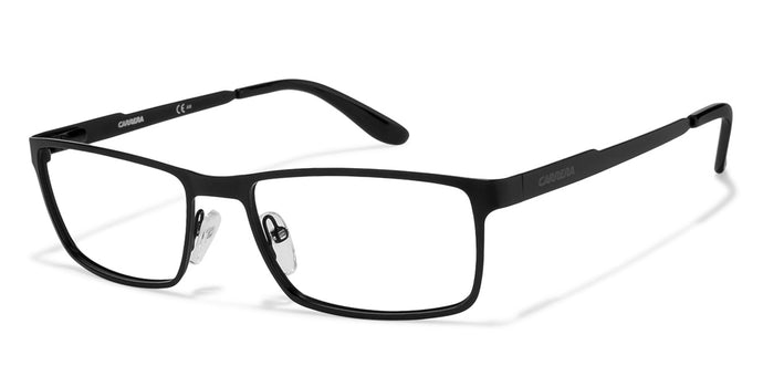 Carrera CA6630 Medium (Size-54) Black 003 Unisex Eyeglasses