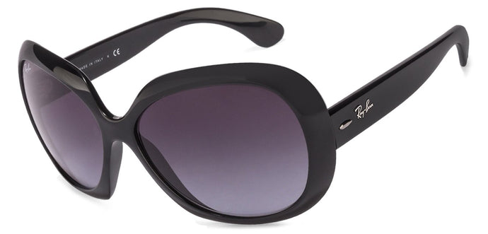 Ray-Ban RB4098 Large (Size-60) Black Gray Gradient Women Sunglasses