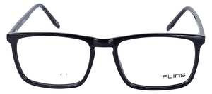 Fling Rimmed Square Unisex Eyeglasses - 2028_F1 | 50 mm