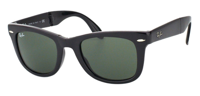 Ray-Ban RB4105 Small (Size-50) Black Green Men Sunglasses
