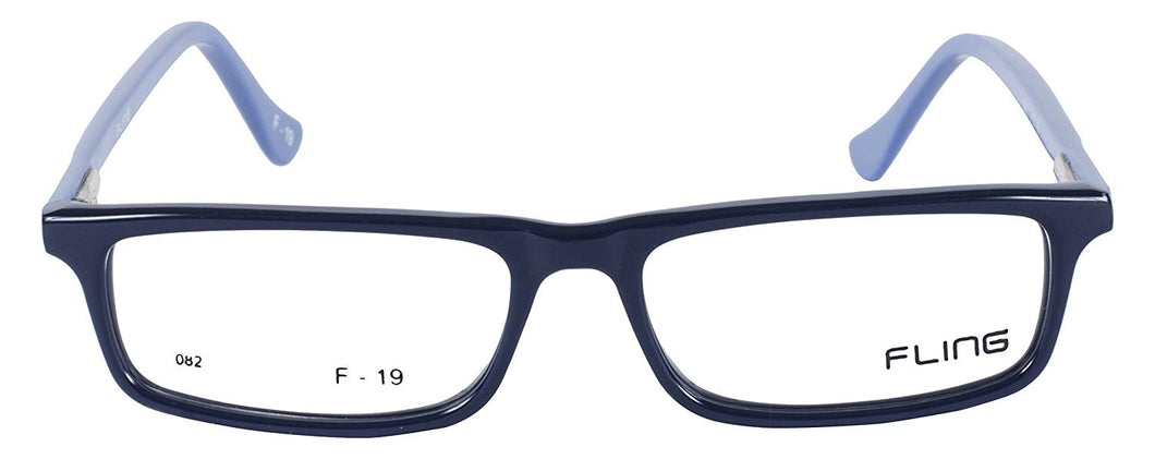 Fling Rimmed Rectangular Women's Eyeglasses- 2008_F8 | 40 mm