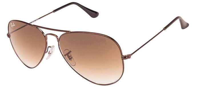 Ray-Ban RB3025 Medium-Large (Size-58) Brown 014/51 Unisex Sunglasses