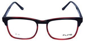 Fling Rimmed Square Eyeglasses- (2030_F7|52 mm)