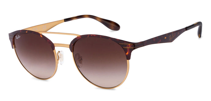 Ray-Ban RB3545 Medium (Size-51) Golden Tortoise Brown Gradient 9008/13 Unisex Sunglasses