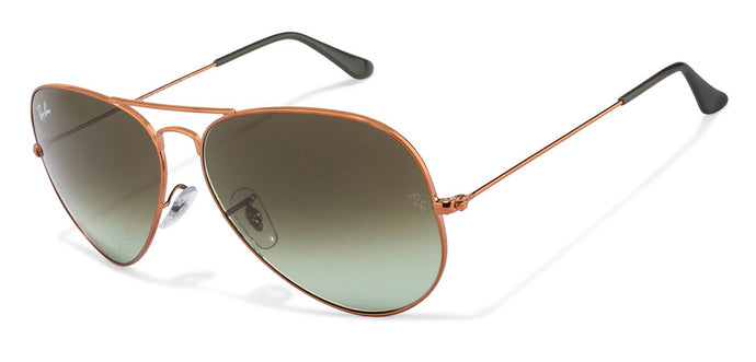Ray-Ban RB3026 Large (Size-62) Copper Brown Gradient Unisex Sunglasses