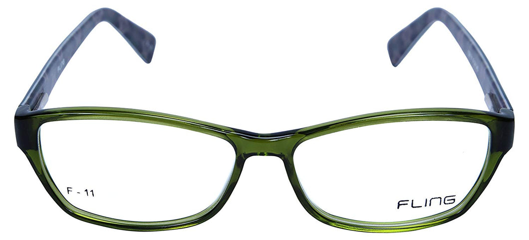 Fling Rimmed Oval Women's Eyeglasses - (108_F11|51 mm)