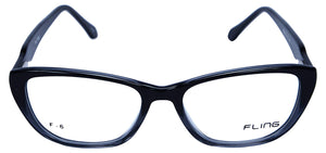Fling Rimmed Cateye Women's Eyeglasses- (2032_F6|51 mm)