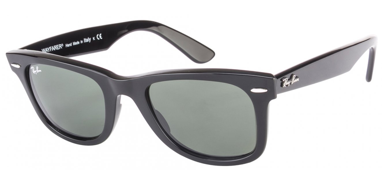Ray-Ban RB2140 901 Size:50 Black Green Men's Zyl Sunglasses