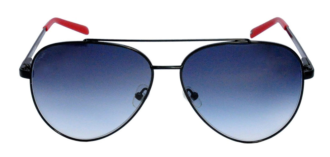 Tommy Hilfiger TH 7969 C4 Aviator Sunglasses Size : 59 Black / Blue Gradient