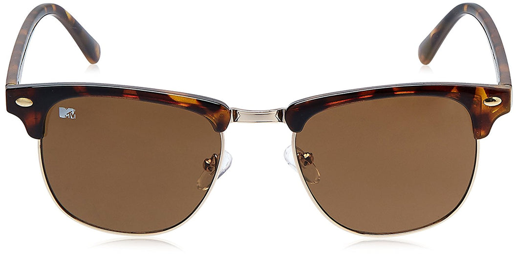 MTV Clubmaster Sunglasses (Golden Demi Brown) (MTV-119|C4 52)