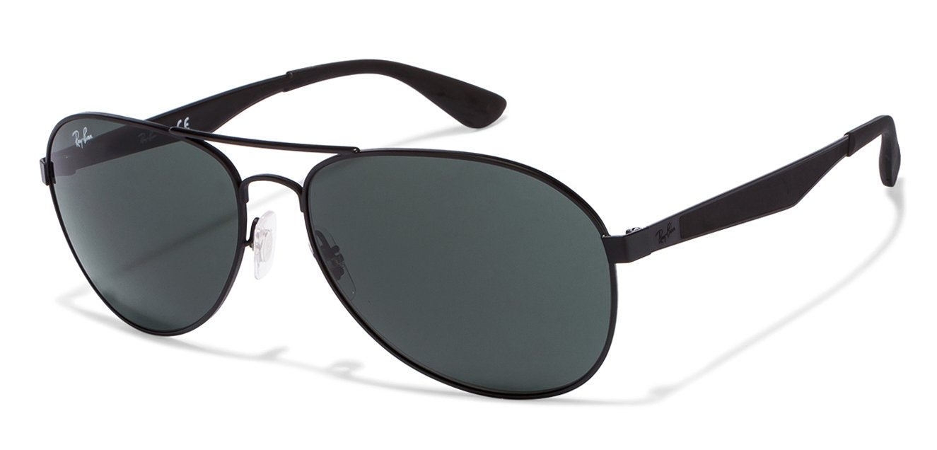 Ray-Ban RB3549 Large (Size-61) Black Green 006/71 Unisex Sunglasses
