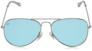 MTV Unisex Contemporary Aviator with 100% UV Blocking Shatterproof Polycarbonate Lens Sunglasses MTV-123