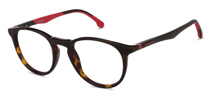 Carrera 8829/V Small (Size-49) Tortoise Matte Black Red 086 Unisex Eyeglasses