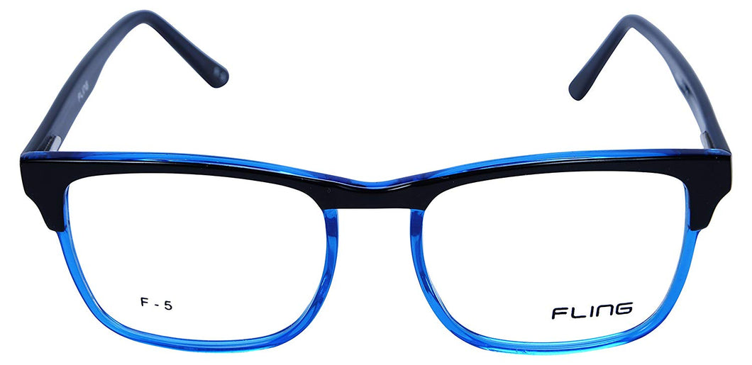 Fling Rimmed Square Eyeglasses - (2030_F5|52 mm)