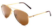 Tommy Hilfiger TH825 Large (Size-60) Gold Brown C1 Male Sunglasses
