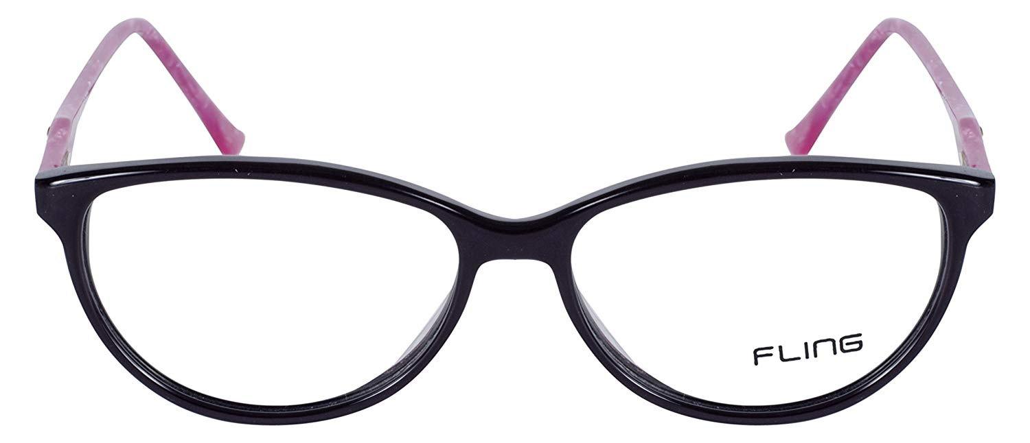 Fling Rimmed Cateye Women's Eyeglasses- 132_F7 | 40 mm