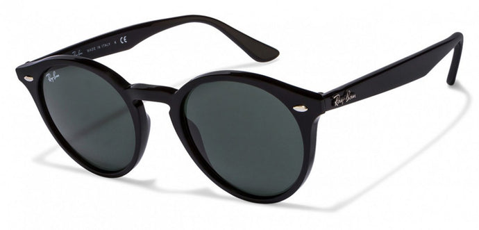 Ray-Ban RB2180 Small (Size-49) Black Green 601/71 Unisex Sunglasses