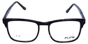 Fling Rimmed Square Eyeglasses - (2030_F2|52 mm)
