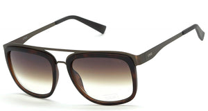 IDEE S2318-C2 Brown Frame And Brown Mirror Unisex Rectangle Sunglasses