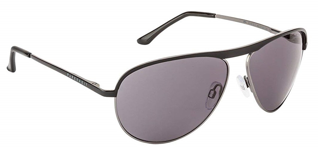 Farenheit 2319- C1 Black Frame With Grey Lens Unisex Aviator Sunglasses