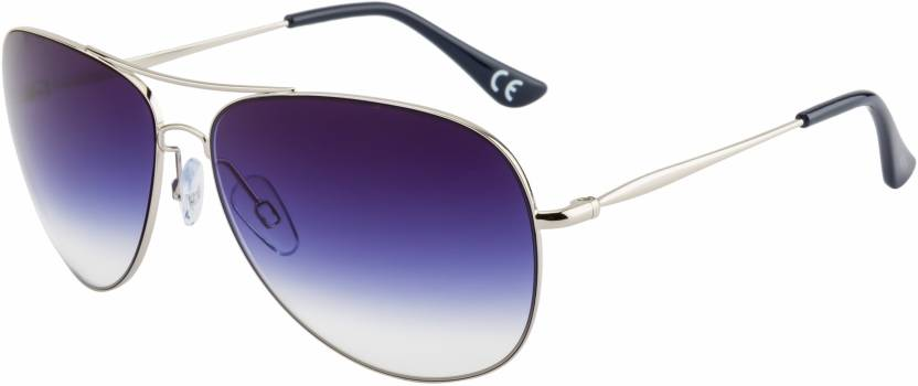 Scott SC-3033-C11 Blue Aviator Sunglasses