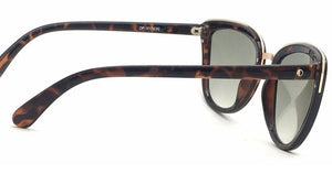 Opium OP-1517-C2 Tortoise Brown Frame With Mrchy Green Women's Cat-eye Sunglasses