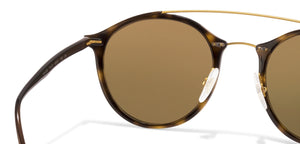 Ray-Ban Golden Tortoise Brown Gradient 9008/13 Unisex Sunglasses