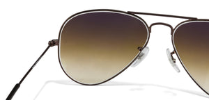 Ray-Ban RB3025-55 Large (Size-55) Brown Gradient Unisex Sunglasses