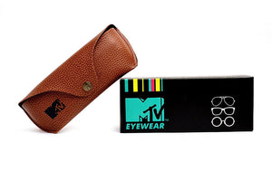MTV Round Sunglasses (Matte Demi Brown) (MTV-118|C2 49)
