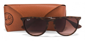 Ray-Ban RB4171 Medium (Size-54) Rubber Havana Brown Gradient Men Sunglasses