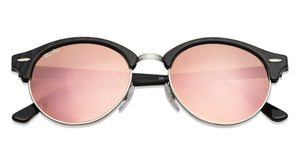 Ray-Ban RB4246 Medium (Size-51) Black Design Silver Pink Mirror 1197/Z2 Unisex Sunglasses
