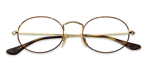 Ray-Ban RX3547 Medium (Size-51) Golden Tortoise 2945 Unisex Eyeglasses