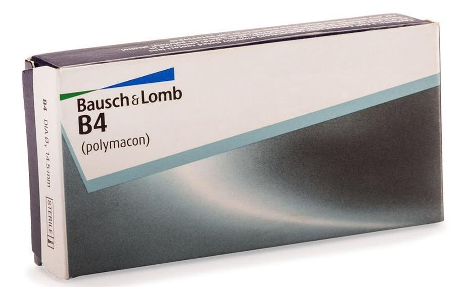 B4, Bausch & Lomb Daily Wear Conventional Lens 1 Lens per Box Contact lens